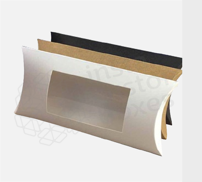 Custom Pillow PVC Window Boxes - packaging company