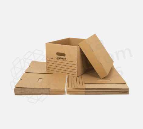 Custom-corrugated-two-pieces-foldable-box