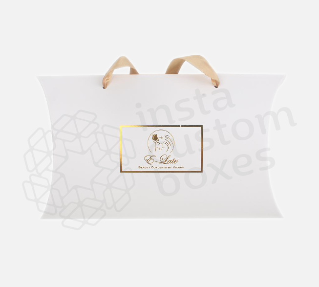 Pillow Hair Extension Box with Logo